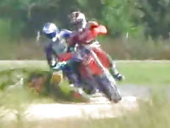 Motocross sex orgy with Gianna Michaels