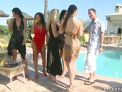 Party By The Pool with Hot Chicks