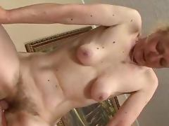 Hairy old Grandma loves having sex like in good old times
