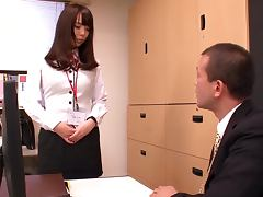 Naughty Office Teen Fucked By Her Bold Boss