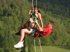 Outdoor and hanging sex