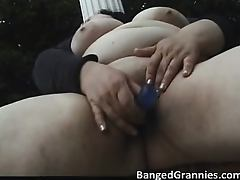 Busty fat MILF slut with big boobs part3