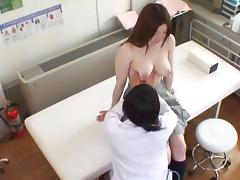 Spycam Wife seduced by masseur