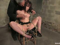 Horny Dana Dearmond gets toyed and immersed in water