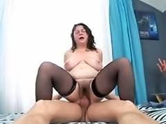 man fuck bushy aged maid