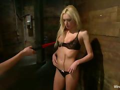 Nika Noire plays BDSM games with Victoria White in terrific BDSM scene