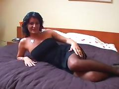 Sexy MILF slut Olivia properly fucked