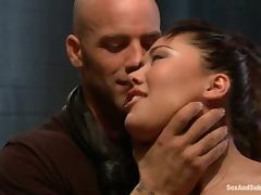London Keyes gets her Asian pussy fucked hard like never before