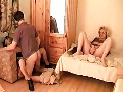 Milf Mom + Boy Threesome 02 From MatureSide
