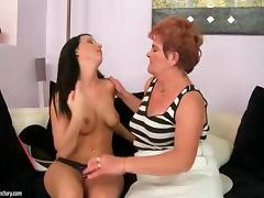 Oldies vs Teens Compilation and the pussy gets nailed