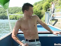 Faggots want it right on the boat