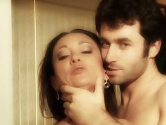 Michelle Lay sucks dick of James Deen