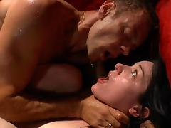 Sensual brunette Stoya was drilled in her anal