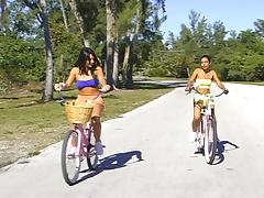 Beach ride honeys.