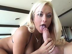Big tits Briana Blair amazes with her skills