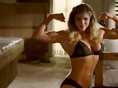 Danielle Hollenshade Female Bodybuilder (Funny Clip)