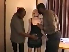 Patient hubby waits for his cock juice