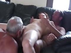 Cuckold trio in action